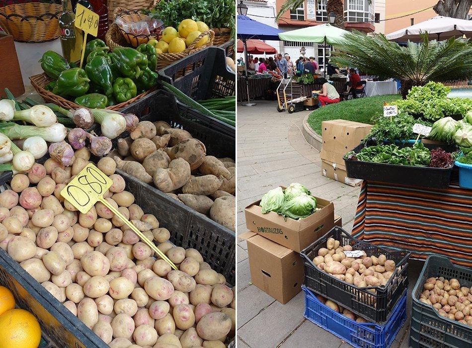 Markt Teneriffa