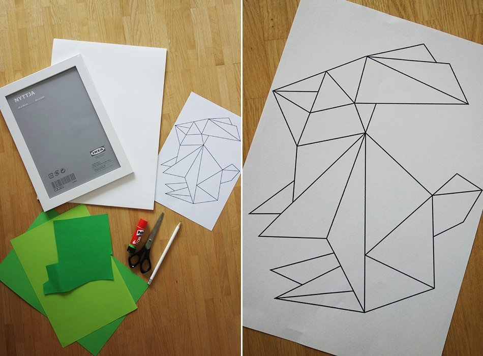 ostern diy lastminute postkarte hase 2 origami