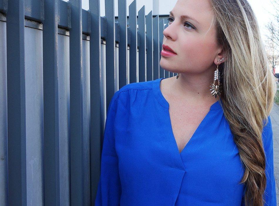 umstandsmode frühling blau schwanger maternity 3