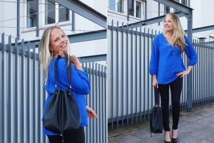 umstandsmode frühling blau schwanger maternity 1