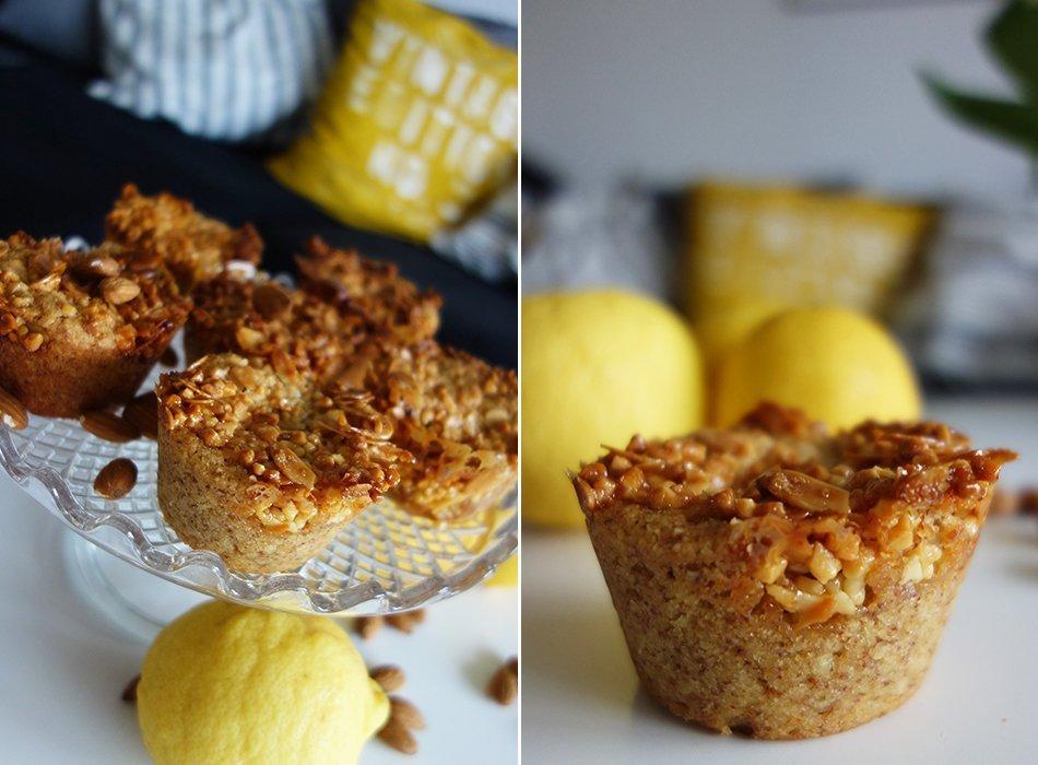 muffin vegan mandel zitrone gesund 2