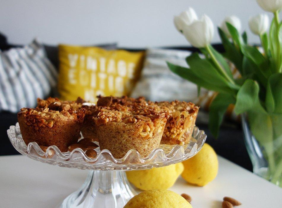 muffin vegan mandel zitrone gesund 5