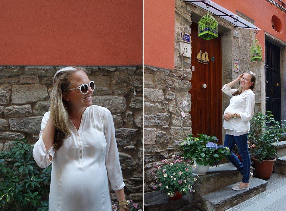 ekulele-blogger-schwanger-cinqueterre-umstandsmode-bluse-sommer-3