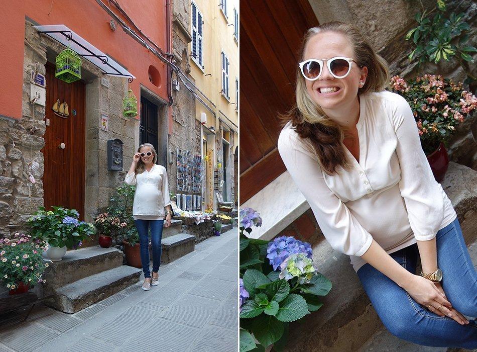 ekulele-blogger-schwanger-cinqueterre-umstandsmode-bluse-sommer-7
