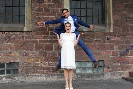 ekulele, hochzeit, married, umstandskleid, schwanger, unsere hochzeit, vintage, diy wedding