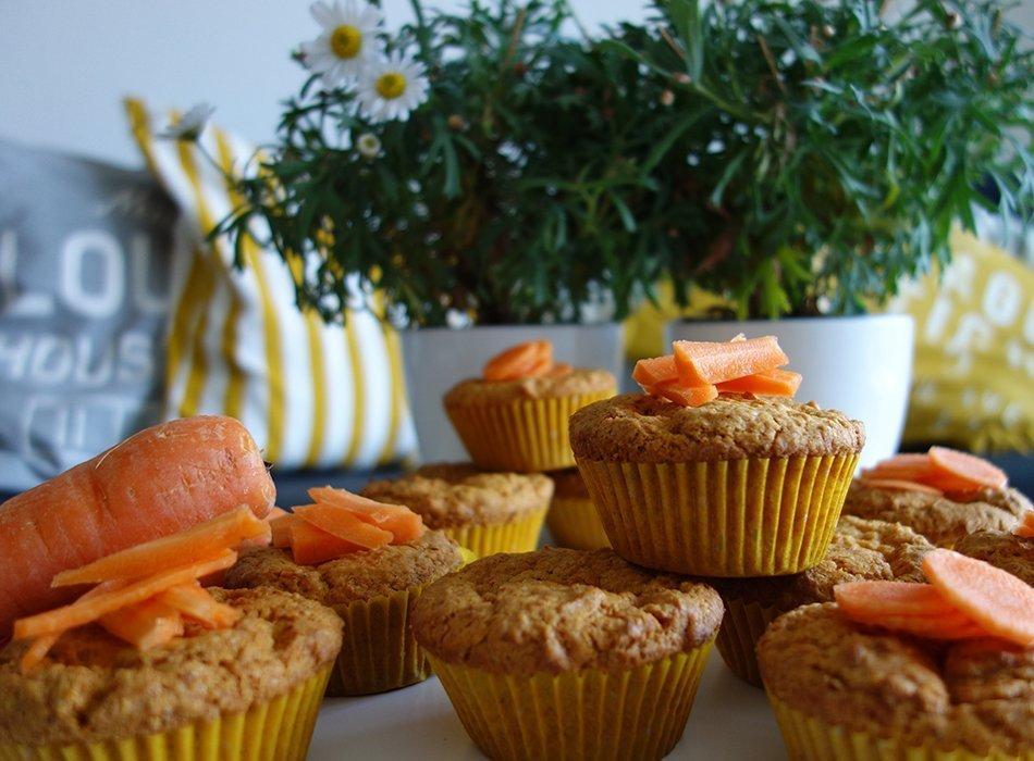 vegane karotten muffins ekulele familienleben rezepte mode kosmetik reisen und. Black Bedroom Furniture Sets. Home Design Ideas