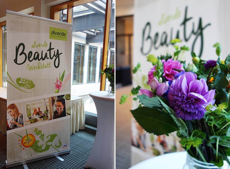 alverde Blogger Event 2015 - Beauty Werkstatt ekulele beuatyblogger naturkosmetik