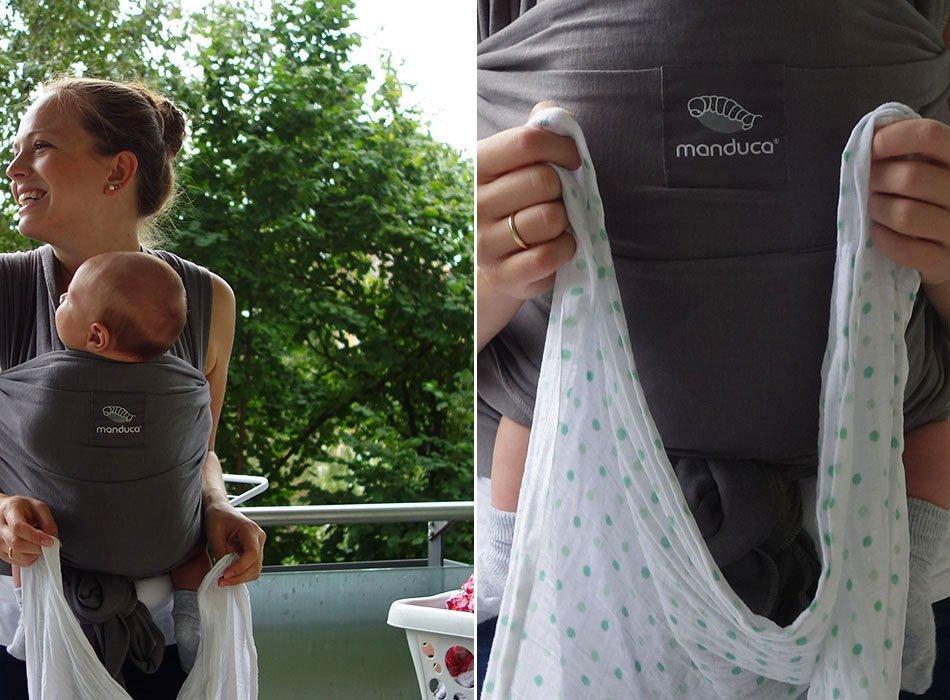 manduca sling, tragetuch, elastisch, mamablöogger, baby, tragen,