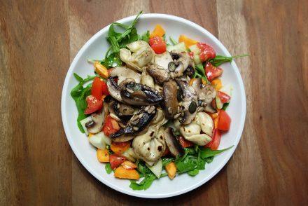 Esslust August - einfach, schnell, vegan ekulele foodblogger vegetarisch kochen tortellini salat gesund smoothie (1)