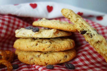 Vegane Cookies mit Salzbrezeln - Zu Gast auf der Bloggerwiesn