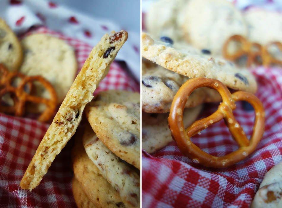 Vegane Cookies mit Salzbrezeln - Zu Gast auf der Bloggerwiesn ekulele