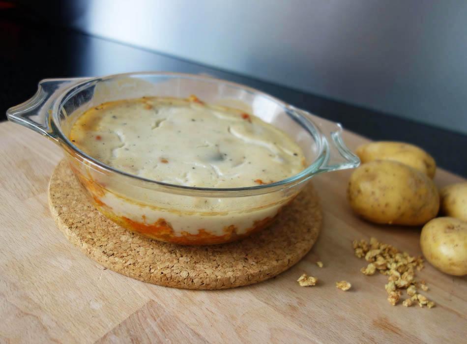 vegane Musaka veganfood ekulele foodblogger ohne milch eifrei musakka