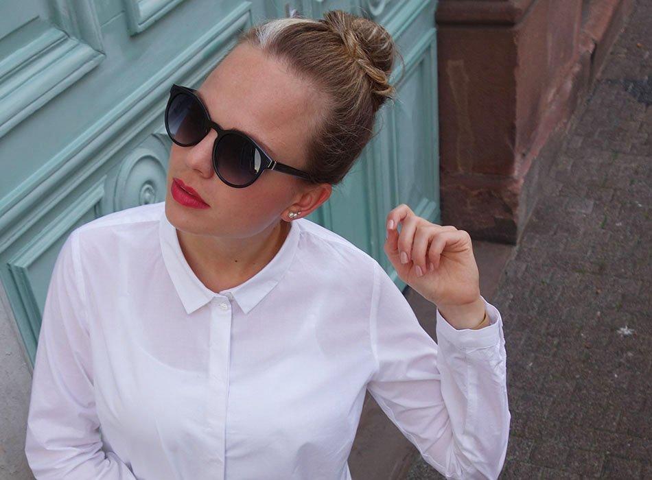 lanius köln, fair fashion, weiße bluse, hemd kombinieren, ekulele, organic cotton,Lieblingskleidung
