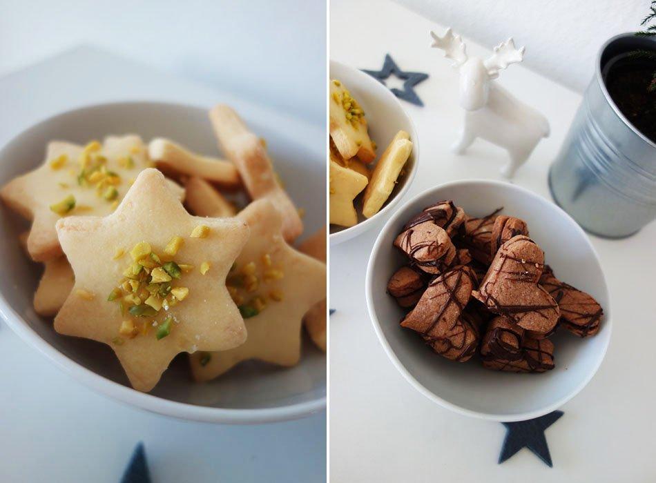 vegane plätzchen, zitronen plätzchen, schokoladen plätzchen, plätzchen ohne ei, ekulele, ein teig zwei kuchen, ein teig zwei plätzchen, vegan backen, vegan weihnachten