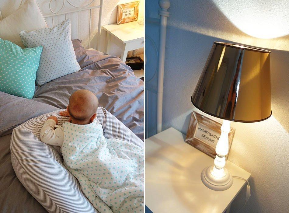 Unser Neues Schlafzimmer In Grau Weiss Turkis Und Kupfer Ekulele