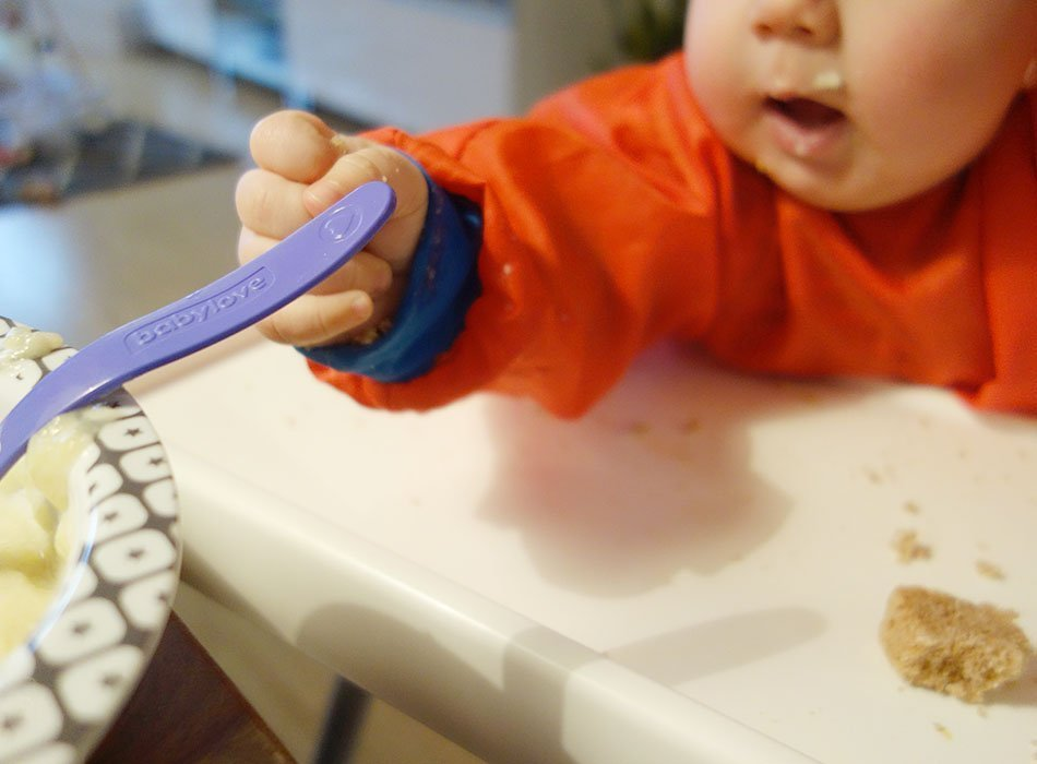 Breikost und BLW kombinieren - das isst unser Baby, ekulele, mamablog, eltern, was soll ein baby essen, wann mit brei starten, fingerfood fuer babys, babyessen, babyfood, gemuese fuer kinder (6)