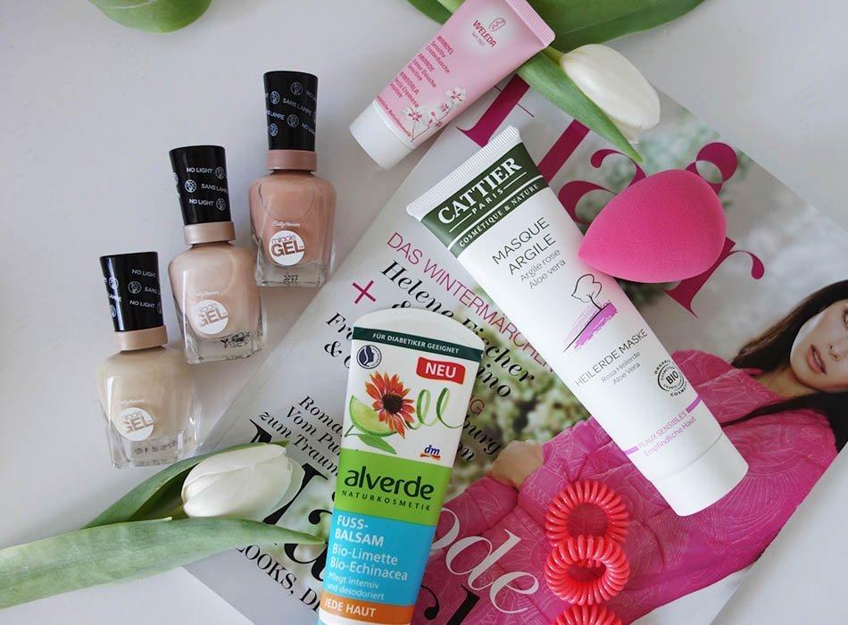 spring cosmetics, kosmetik für den frühling, ekulele, make up auftragen,weleda mandel, gute lacke, tulpen dekorieren