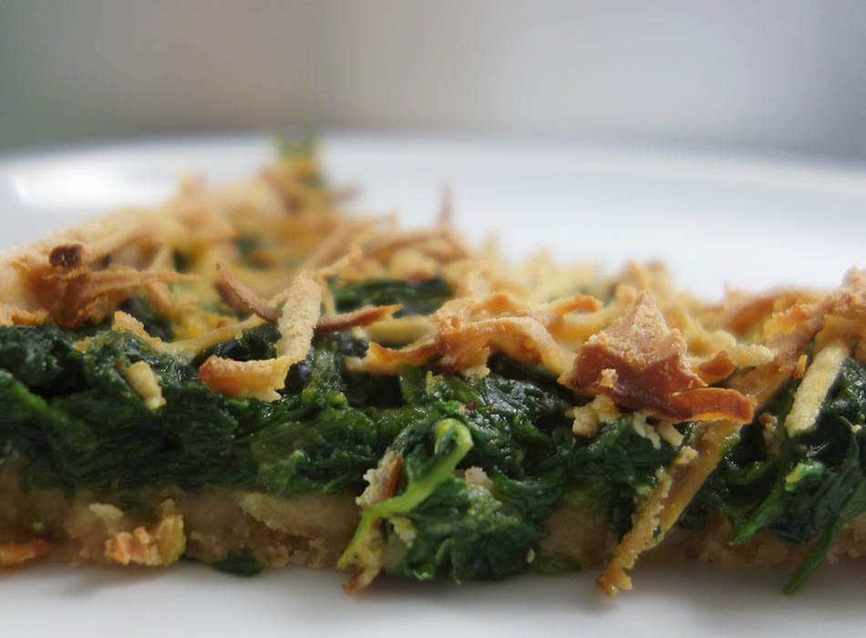 vegane spinat quiche schnelles leckeres essen ekulele