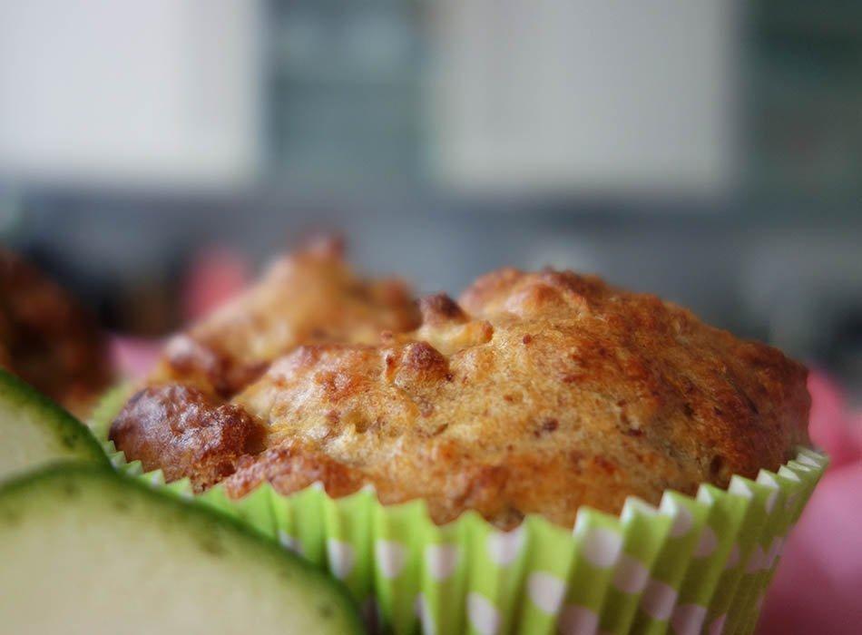 Fettarme Zuckermuffins