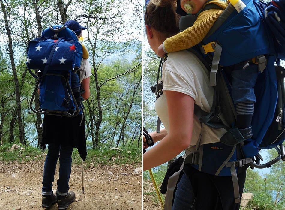 Wandern mit Baby - Trage oder Kraxe, ekulele, mamablog, unterwegs mit baby, trage, manduca, deuter, mit kind wandern, optimale Trage, Tipps Baby tragen (4)