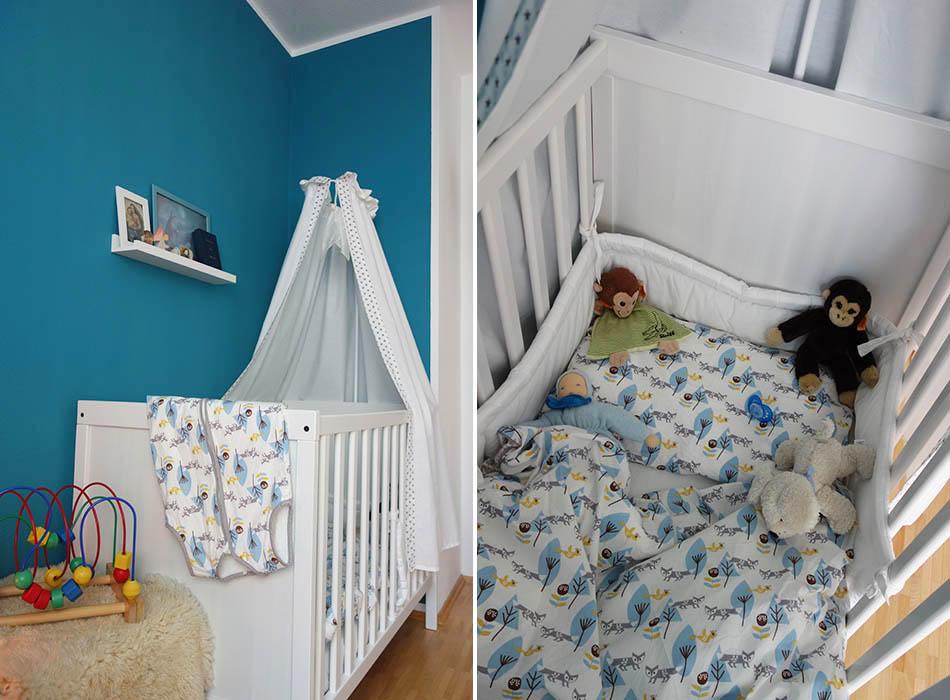 ein blick ins kinderzimmer kleine umgestaltung ekulele kinderzimmer gelb blau mamablog. Black Bedroom Furniture Sets. Home Design Ideas