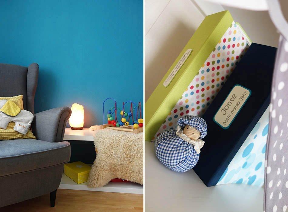 Ein Blick ins Kinderzimmer - Kleine Umgestaltung, ekulele. kinderzimmer gelb blau, mamablog, babyzimmer, einrichtung jungszimmer, modernes kinderzimmer (7)