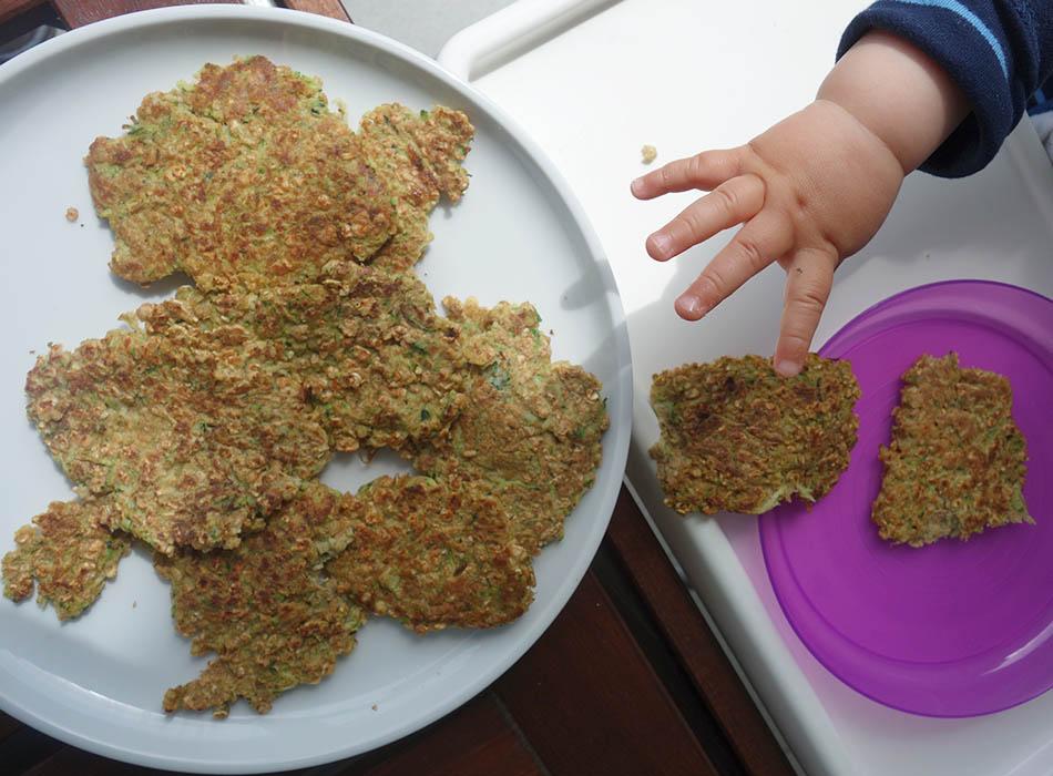 Esslust - Pflanzenbasiert, gesund und bunt, ekulele, ekulelefood, vegan, essen fuer kleinkind, leckere smoothies und pulver, Pfannekuchen mit Zucchini (8)