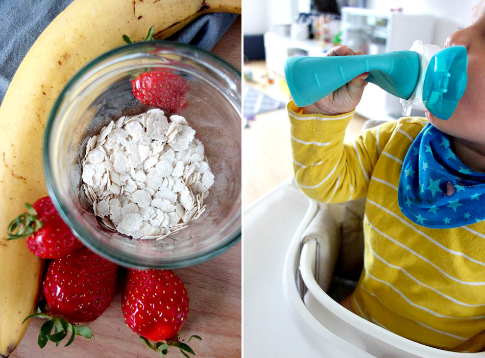 gesunder quetschie, snack für kleinkind, obst kinder, quetschie selber machen, ekulele, mamablog