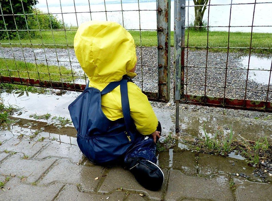 ekulele, wohnwagen, baby und campen, mamablog, reisen mit baby, campen schlechtes wetter