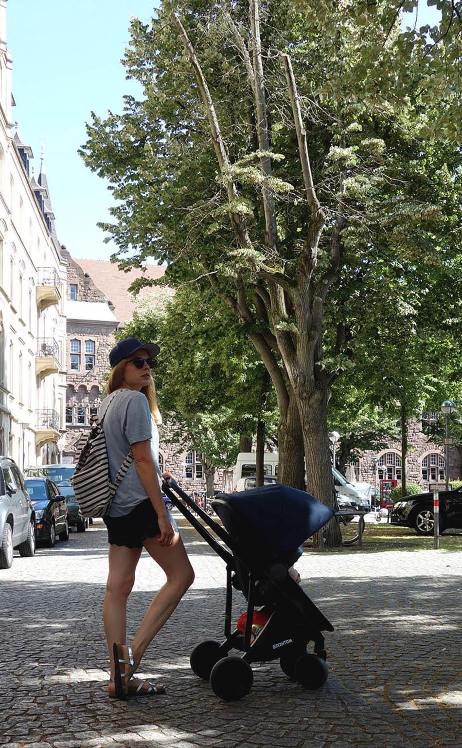 Kinderwagen im Test Greentom Upp 3in1 - Grün, stilvoll, funktional, nachhaltig, kinderwagen modern, alternative joolz, ekulele, mumblog, mamablog, alltag mit kind, streetstyle, mumlife (6)
