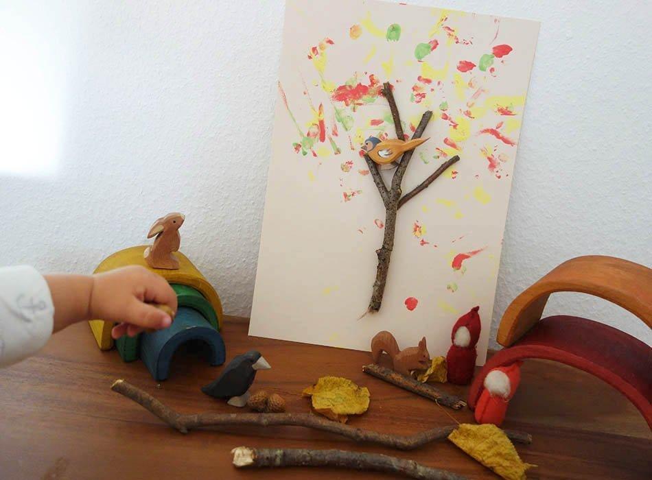 Basteln Im Herbst Interessenorientiert Basteln Mit Kleinkindern