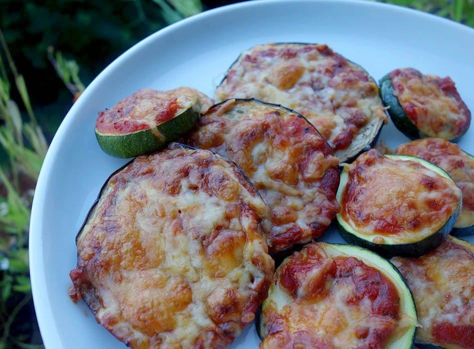 Schnelle Antipasti - Low Carb Pizza, ekulele, pizza ohne teig, italienische vorspeise, ekulelefood, foodblog (4)
