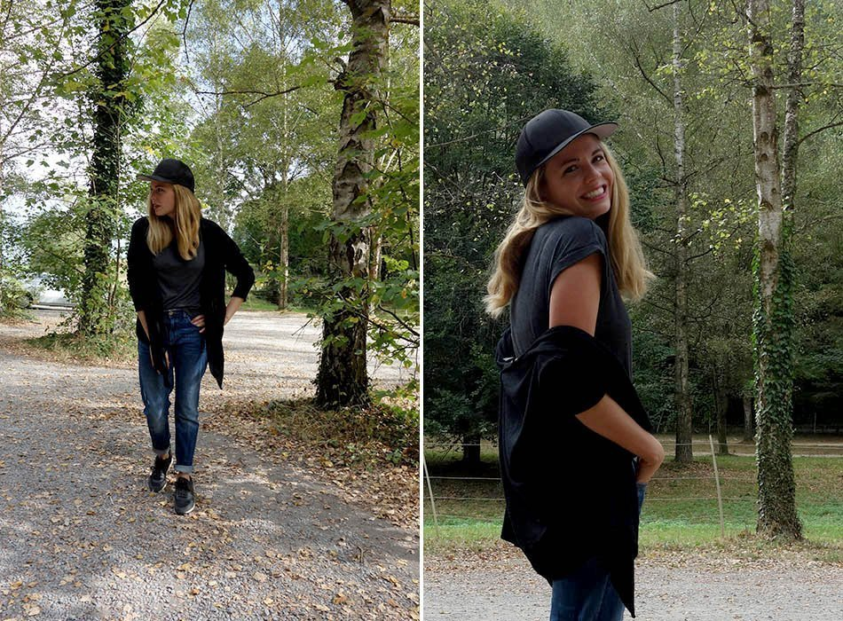 modischer rucksack, mamablogger, herststyle, ekulele, streetstyle karlsruhe, mama und sohn