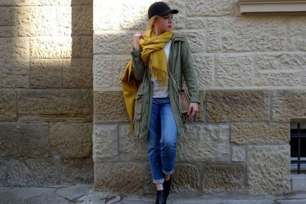 mamafashion, herbstlook, autumn fashion, ekulele, blog karlsruhe, lookbook, gelber Schal, vegane Tasche