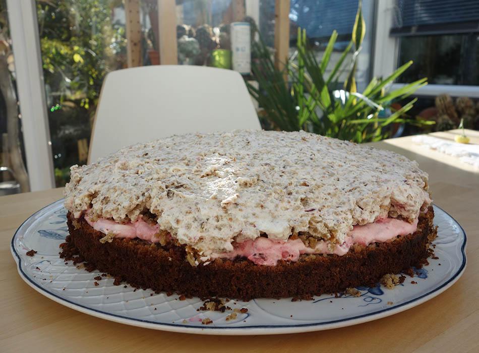 Haferflockentorte The Best Ekulelefood Gesunder Kuchen Kernig Gesund