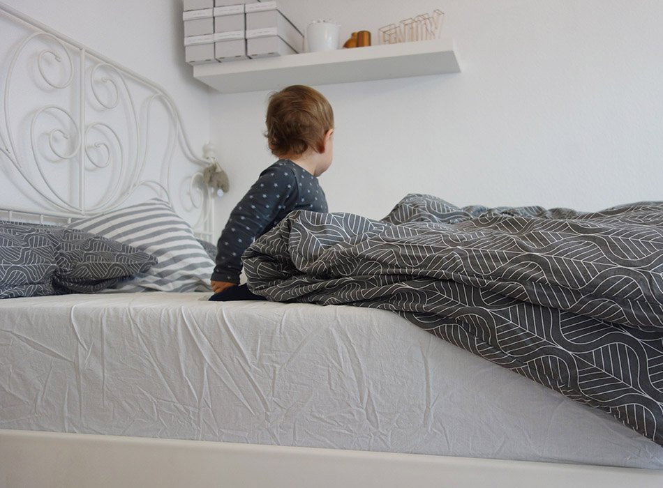 Bruno, Matratze, Test, ekulele, Familienbett, gut schlafen, schlafzimmer, kleinkind, mamablog, lifestyle, gesund, bequem