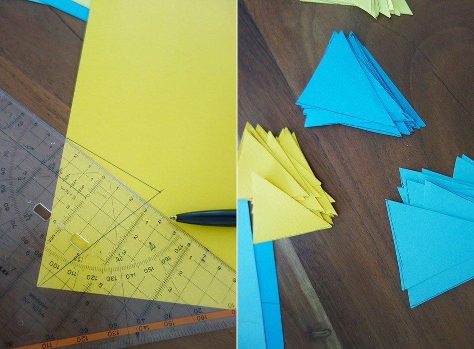 Einfaches DIY - Wimpelkette aus Papier - Ekulele - Familienleben ...
