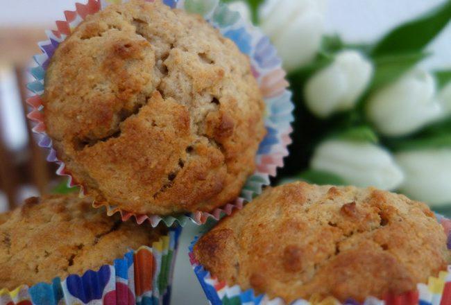 ekulelefood, muffins, backen, kleinkind, blw, mamablog, rezept, einfach, schnell, wenig zucker, obstkuchen, haferflocken, teig