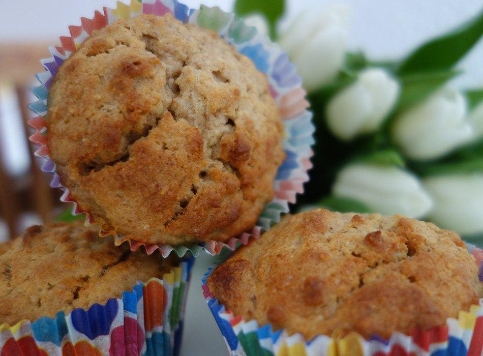 Muffins Mit Haferflocken Und Apfelmus Ekulele Familienleben