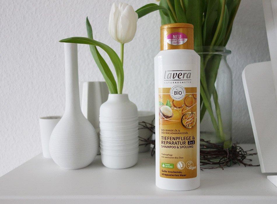 lavera, shampoo, spülung, ekulele, test, top, flop, beautyblog