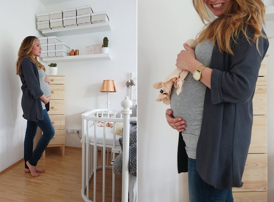 ekulele, schwanger, update, mama werden, zweifach mama, mumlife, mamablog, babyecke, babybay, schlafzimmer, babybett, liebe im bauch, umstandsmode, 23 SSW