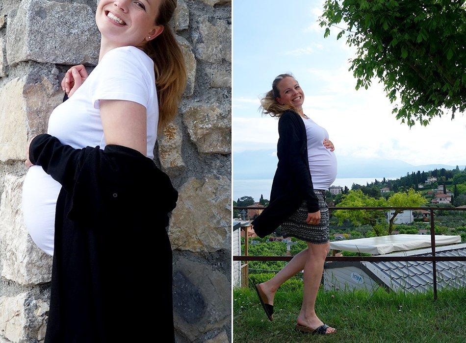 27 Wochen Schwanger Großer Bauch Entspannung Und Spannung Pur