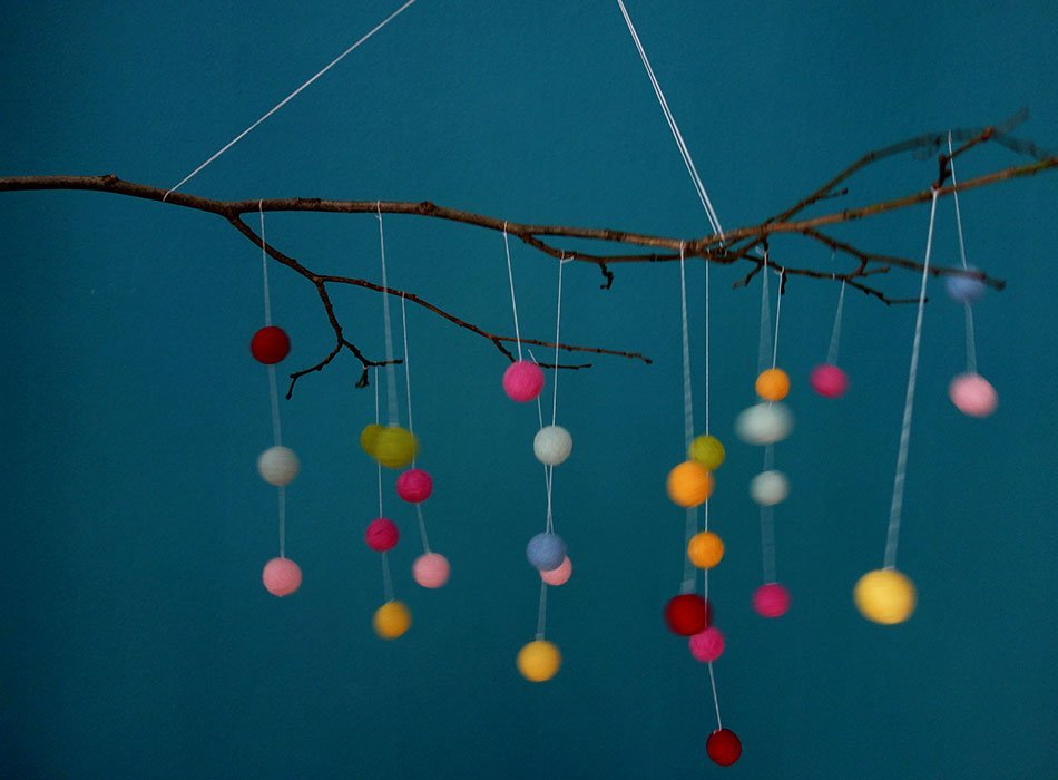 Ekulele Diy Mobile Baby Spielzeug Sinne Schulen With Mobile Selber Machen
