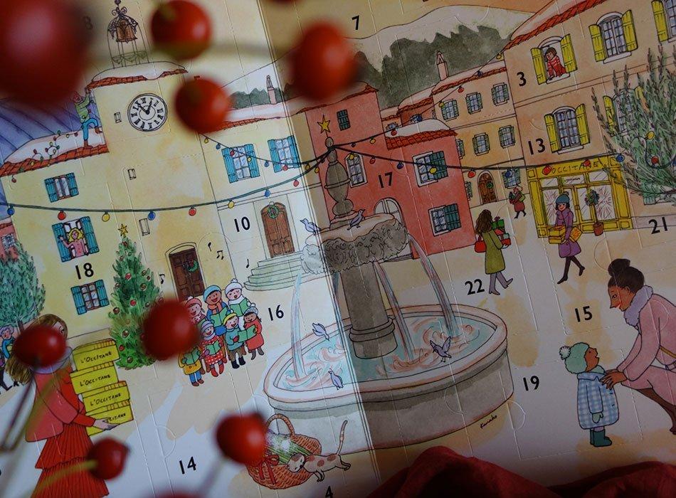 loccitane, kalender, advent, gewinnspiel, ekulele, beuaty, natur, blog
