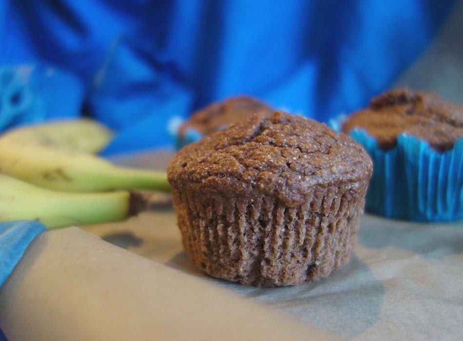 Muffins Mit Banane Und Dinkel Gesund Backen Fur Kleinkinder