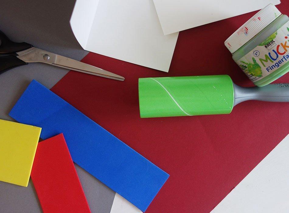weihnachtskarten selbst gestalten 3 schnelle und einfache ideen ekulele diy fusselrolle. Black Bedroom Furniture Sets. Home Design Ideas