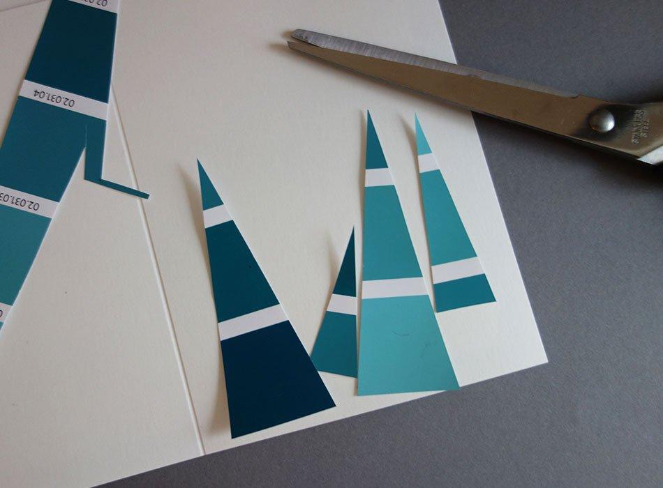 weihnachtskarten selbst gestalten 3 schnelle und. Black Bedroom Furniture Sets. Home Design Ideas