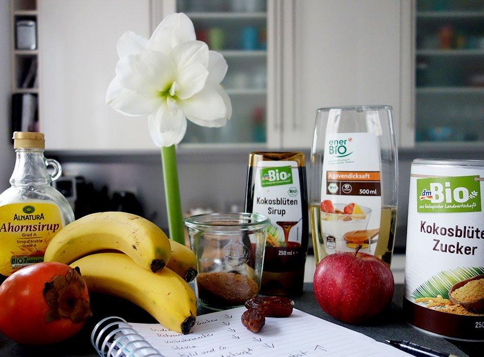 Zucker, entwöhnen, Alternativen, gesunde Fakten, foodblog, fructose, glucose, ernährung, tipps, challenge, zuckerfrei, weniger zucker für die mutter