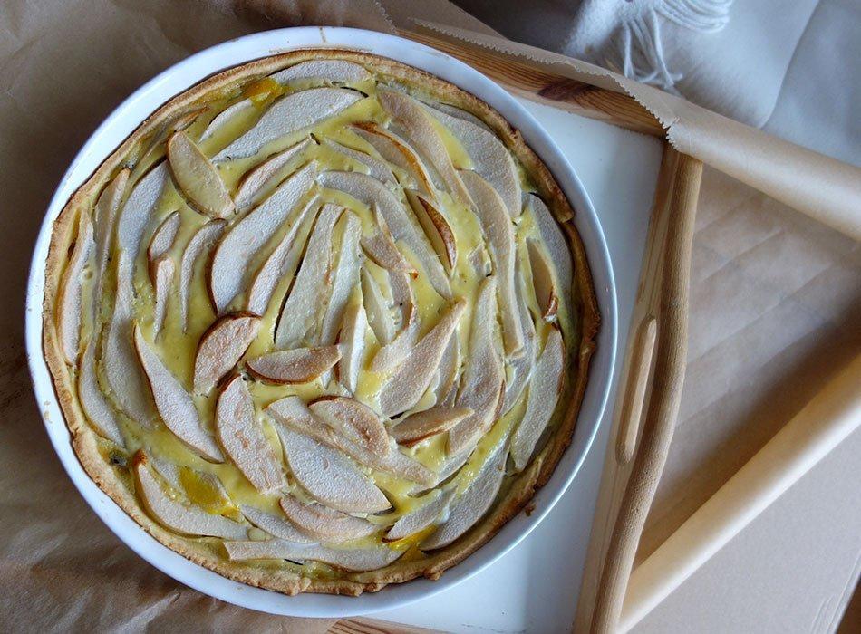 Rezept, einfach, beeindrucken, ekulele, kuchen, birnen, schokolade, schnell