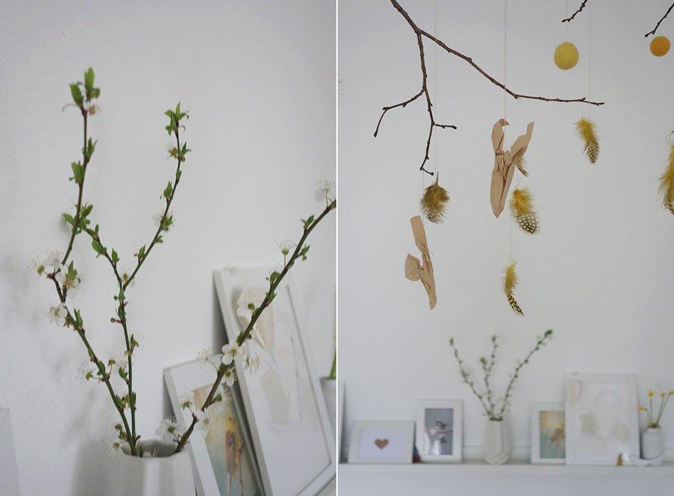 Bastelideen frhling cool basteln mit papier bastelideen for Gartendeko fruhling